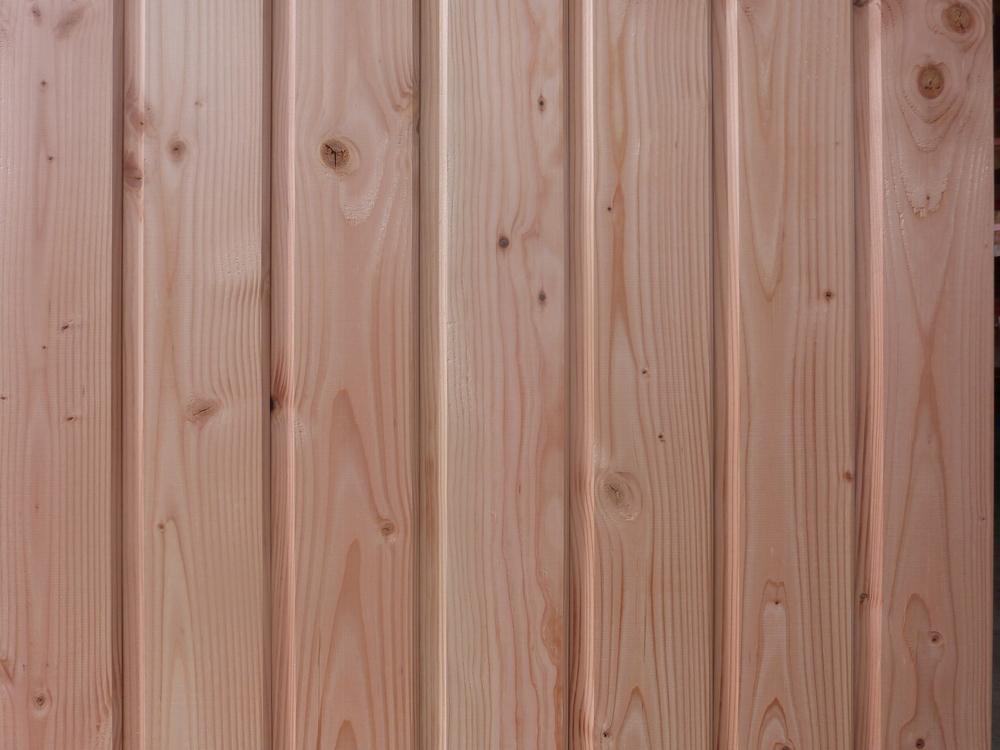 Clin de bardage douglas naturel saumur angers tours 49 for Planche a clin prix
